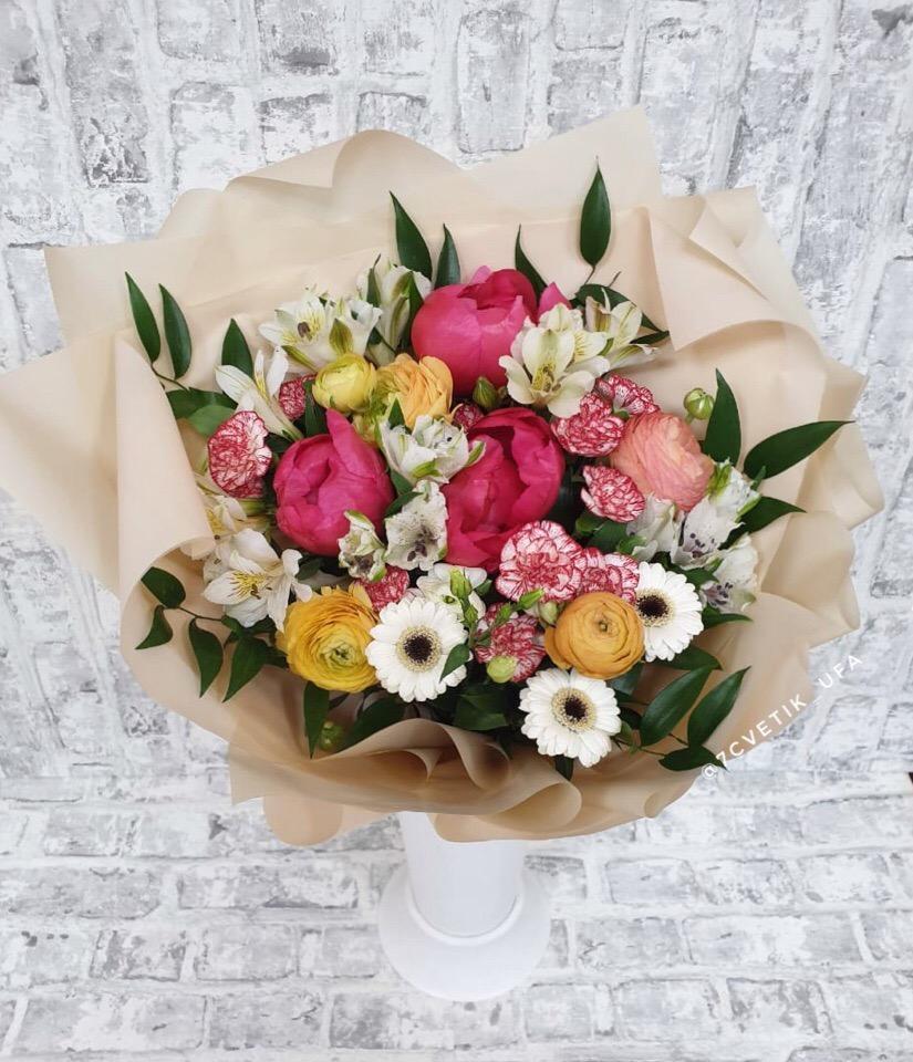 Заказ цветов в уфе магазины, корзину цветы домашние