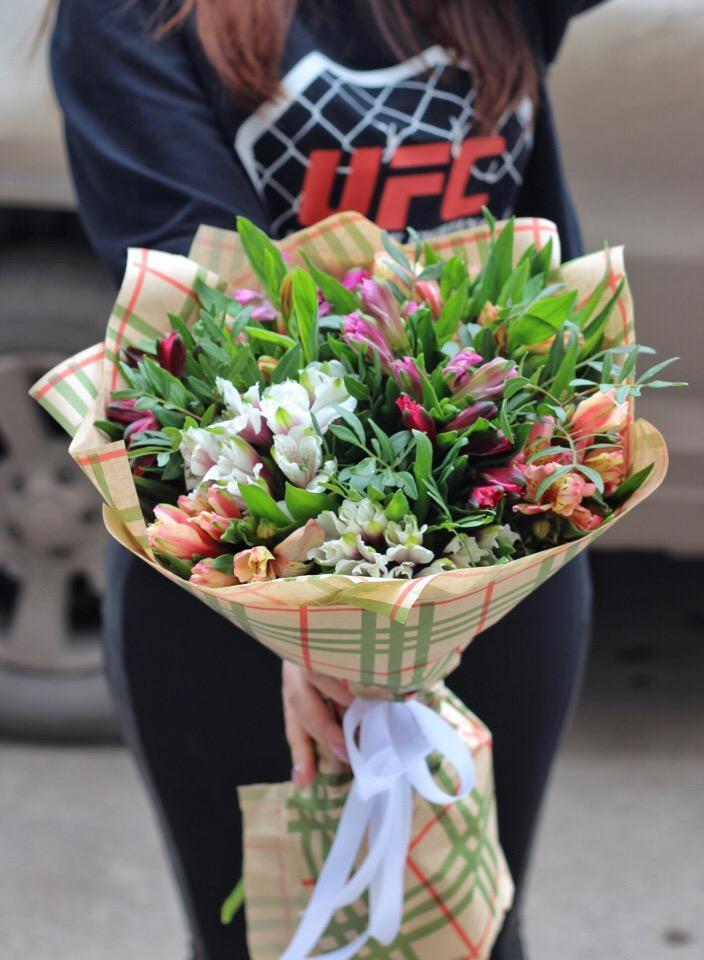 Букеты рыжих, доставка цветов пог уфе дешево